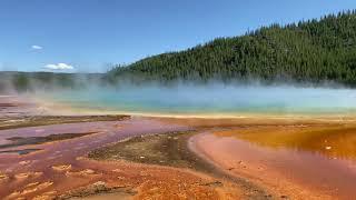 Парк Yellowstone в США. Часть 2: Прогулка по парку. Наши путешествия  своим ходом