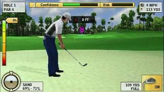 Tiger Woods PGA Tour 10 Sony PSP Gameplay - Rocco At