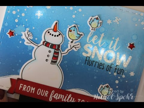 Interactive Light Up Christmas Card