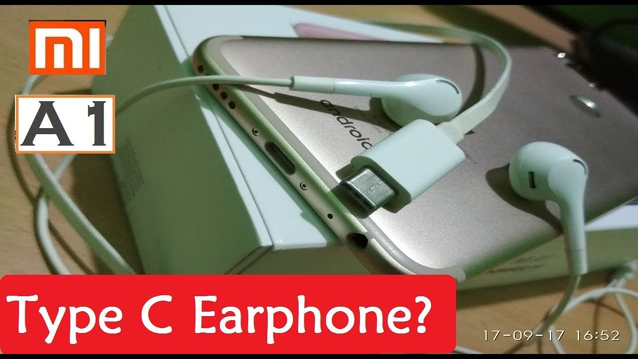 Does Xiaomi Mi A1 support Type C Earphone/Headphone ? In Hindi | Mr  Technical