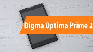 распаковка Digma Optima Prime 2/ Unboxing Digma  Optima Prime 2