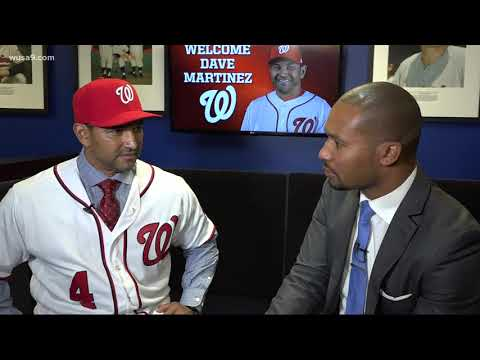 7 questions with new Nationals Manager Dave Martinez
