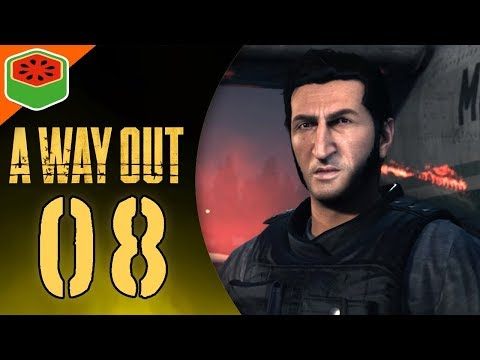 WHAT IS THIS ENDING!? | A Way Out Co-op Let's Play #8 (FINALE)