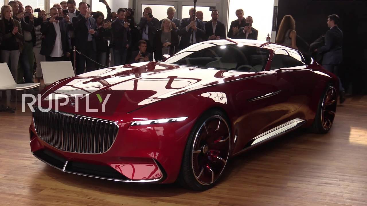 usa mercedes maybach vision 6 unveiled in california youtube. Black Bedroom Furniture Sets. Home Design Ideas