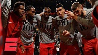 Toronto Raptors All-Access vs. Philadelphia 76ers | NBA Sound