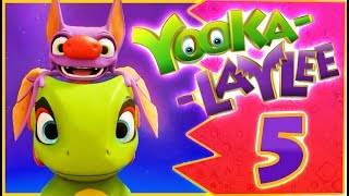 Yooka-Laylee 100% Walkthrough Part 5 (PS4, PC, XONE) - Galleon Galaxy - No Commentary