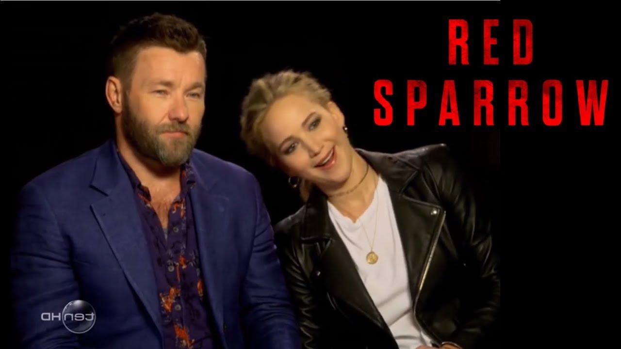 Red Sparrow Bloopers | Jennifer Lawrence & Joel Edgerton - YouTube
