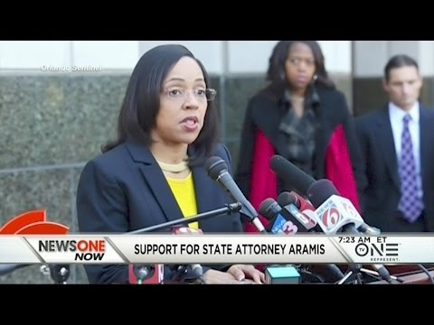 Hundreds Rally At The Florida State Capitol In Support Of State Attorney Aramis Ayala
