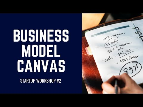 Startup Workshop #2: Business Model Canvas