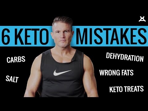 6 KETO MISTAKES | Ketogenic Diet Tips from Daniel Ventura