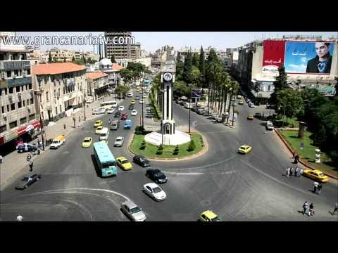 Fotos: Ciudad de Homs en Siria, antes y después