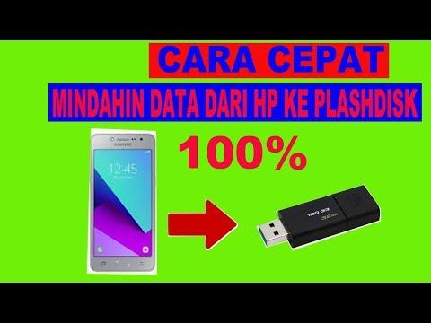 Cara Pindahkan File Dari HP ke Flashdisk  | Cara Menambah Memori Internal HP Android.
