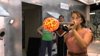 All About Glass Blowing (Introductory Class)(From the Chrysler Museum Glass Studio, an introduction to glassblowing and what you might expect when taking a beginner class., 2012-09-11T22:26:46.000Z)