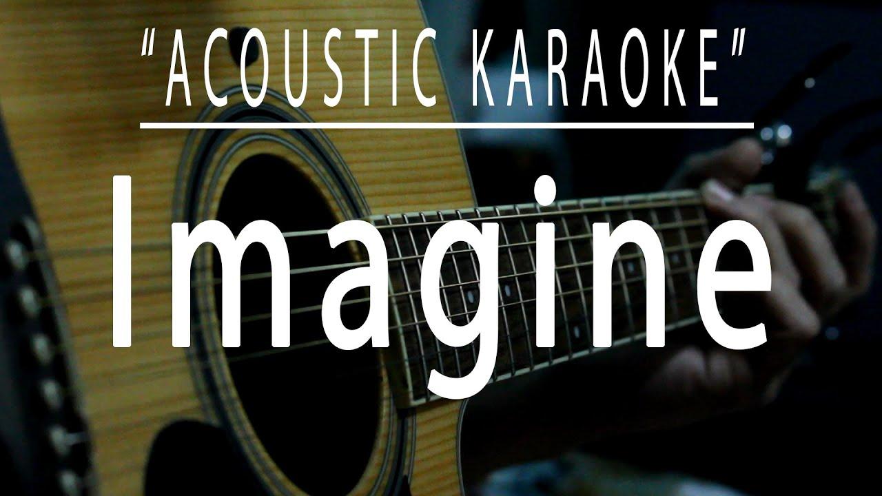 Imagine - Acoustic karaoke (John Lennon)
