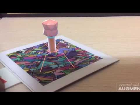 Bacteriophage Virtual Reality Demo Video Augmented Reality Demo