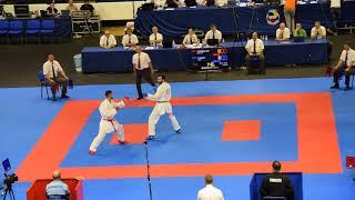 Azerbaijan - Turkey, Semifinal Team Kumite, All Matches, European Championship 2018
