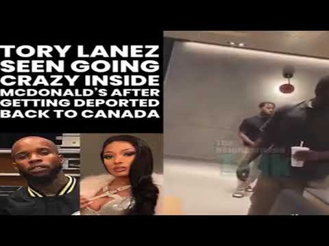Tory Lanez Spotted Out In Mcdonalds Going Crazy!