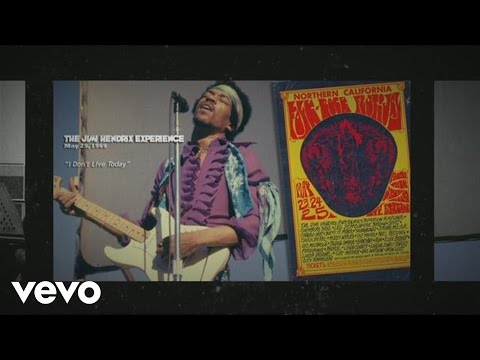 Jimi Hendrix - I Don't Live Today - Santa Clara 1969