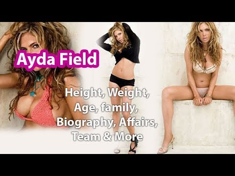 Ayda Field Height Weight Measurements Age Husband Net Worth