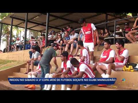 03 09 18 INICIOU NO SÁBADO A 1ª COPA JATAÍ DE FUTEBOL SOÇAITE NO CLUBE  MANGUEIRÃO 0fcaba0ee1f22