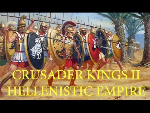 Crusader Kings II - Hellenistic Empire - Episode 9: Royal Coronation