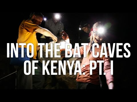 Into the Bat Caves of Kenya: Pt. I