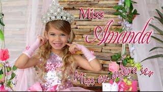 Miss Amanda Nathanry - Música Miss eu quero ser