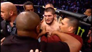 UFC 229: Khabib vs McGregor BRAWL POST FIGHT REACTION