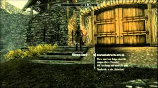 Skyrim Livestream - WHY (Fly Away Horse Glitch)