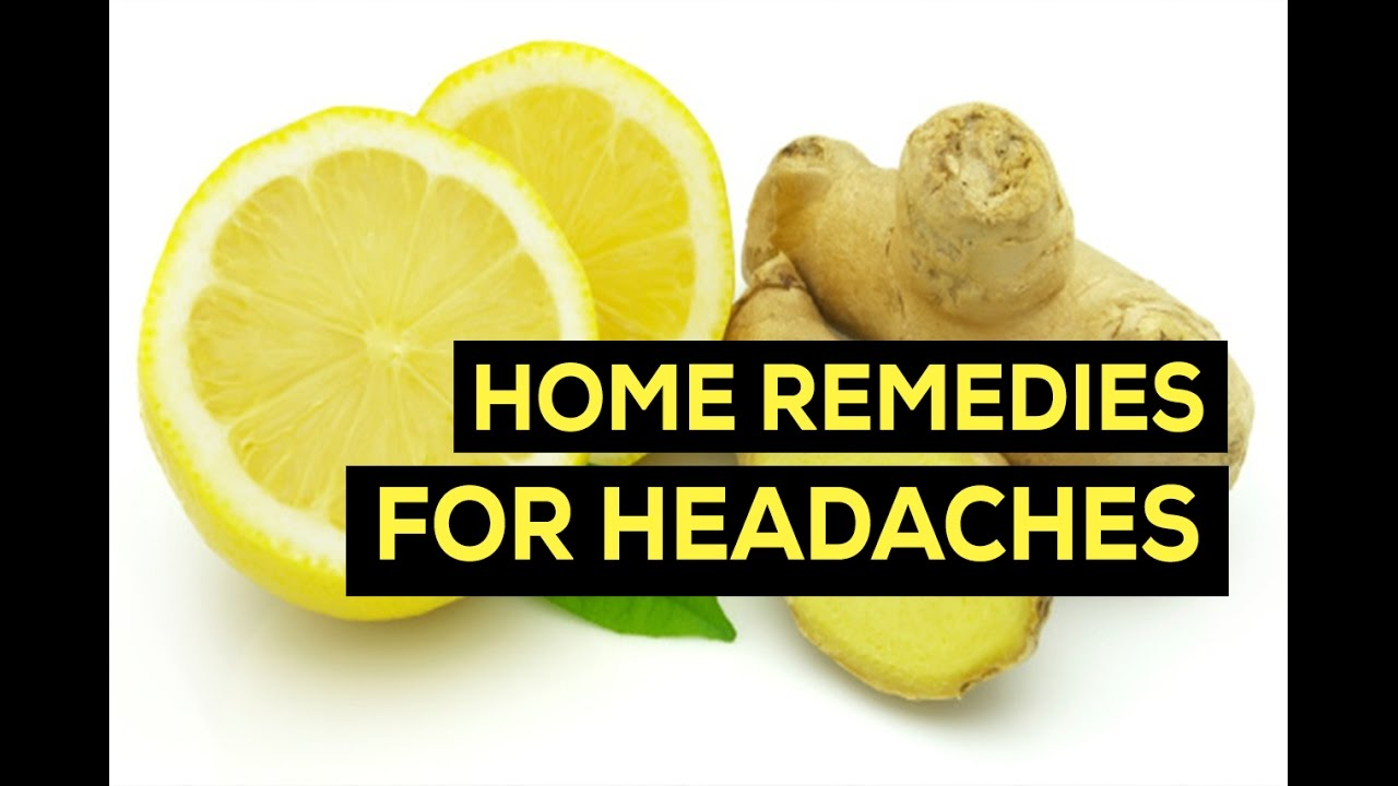 Natural Home Remedies for Headaches | Migraine Remedies