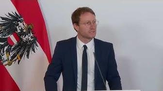 """LIVE: PK """"Aktuelles zum Coronavirus"""" mit Gesundheitsminister Anschober mit Experten"""
