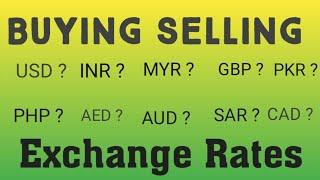 Exchange Rate/Currency Rates Today in Pakistan||US Dollar Saudi riyal UAE Dirham to Pkr|25/03/2020