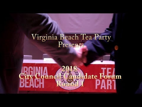 2018 Virginia Beach City Council Candidates Forum Round 1