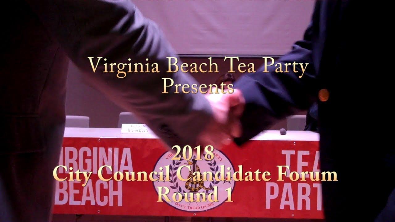 2018 Virginia Beach City Council Candidates Forum Round 1
