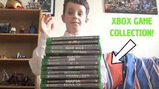 My Entire Xbox One Game Collection Showcase!