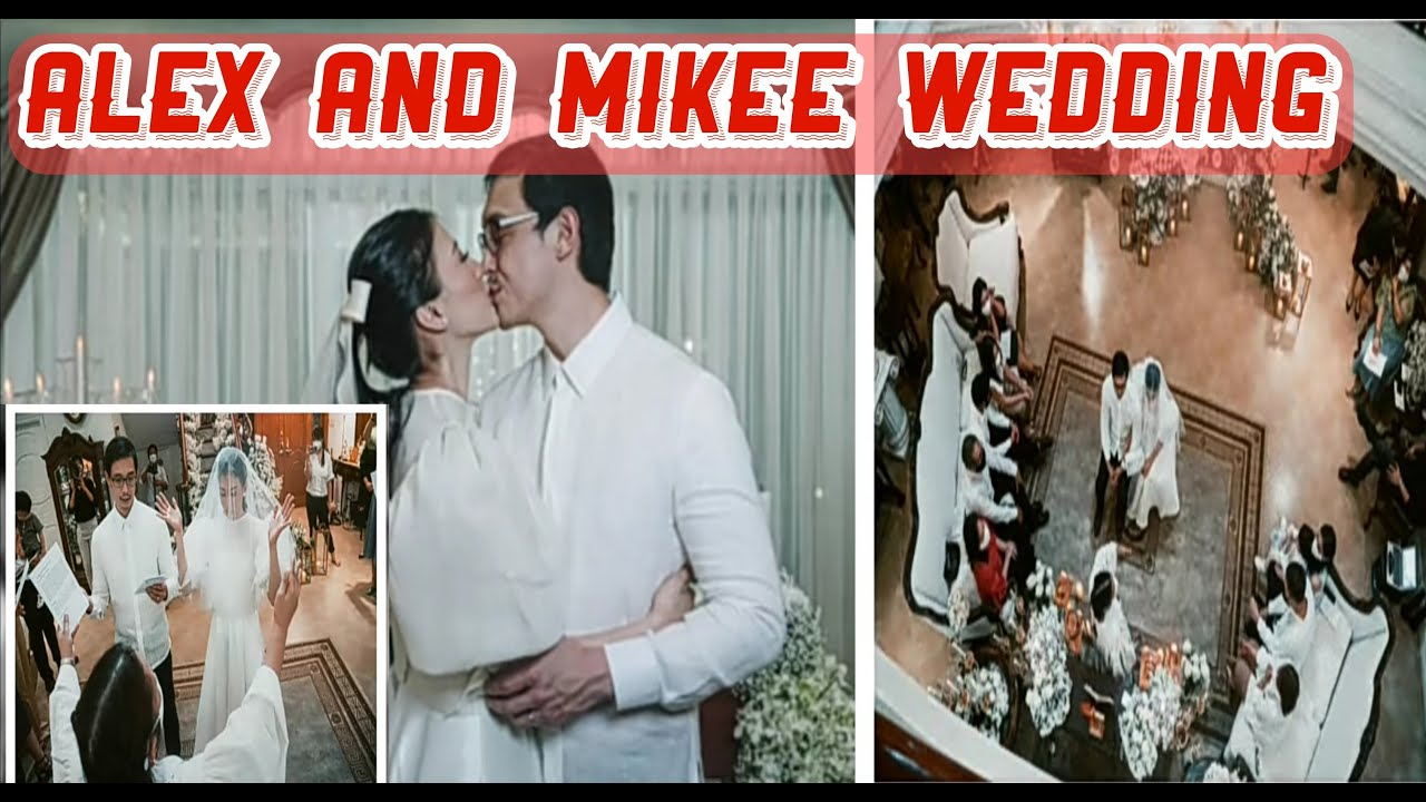Full coverage of Alex Gonzaga and Mikee Morada wedding /Ang Madamdaming speech ni Mikee /Zel channel
