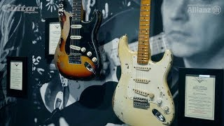Jimmie Vaughan on Strats, Stevie Ray and Clapton at NAMM 2018 Video