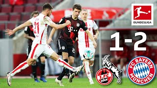 Müller Gnabry Secure FC Bayern Win 1 FC Köln FC Bayern 1 2 Highlights Matchday 6