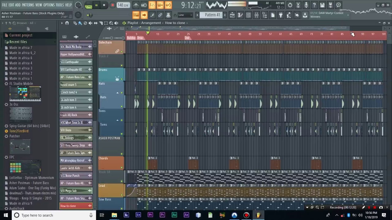 fruity loops project files