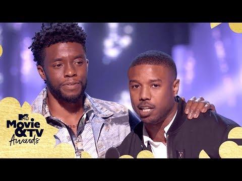 The Best of Black Panther ft. Chadwick Boseman & Michael B. Jordan   2018 MTV Movie & TV Awards
