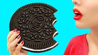 Огромные и миниатюрные сладости – 9 идей
