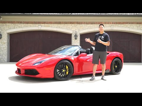 Newer Is Better | Ferrari 488 Spider Review!