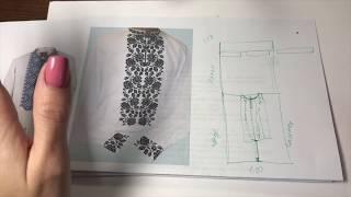 як зробити викрійку сукні для початківців відео покрокова інструкція