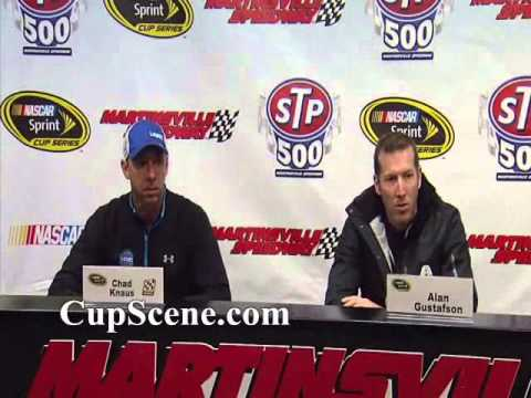 NASCAR at Martinsville March 2015: Chad Knaus & Alan Gustafson ...
