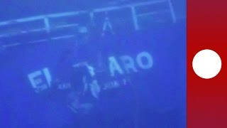 Deeper than Titanic: El Faro shipwreck footage 2,500ft underwater