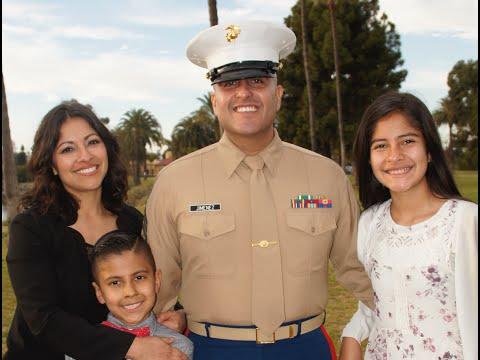 MSgt Salvador Jimenez 21 year Marine Retirement Ceremony