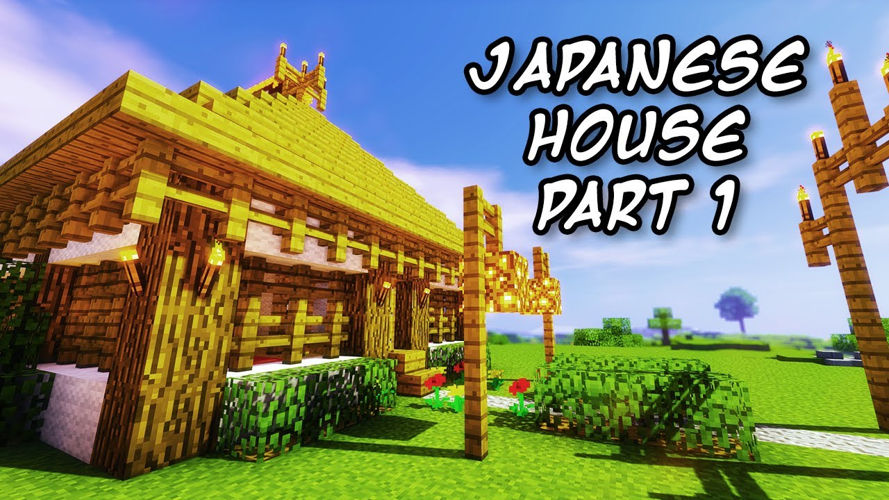 Low class asian style house minecraft