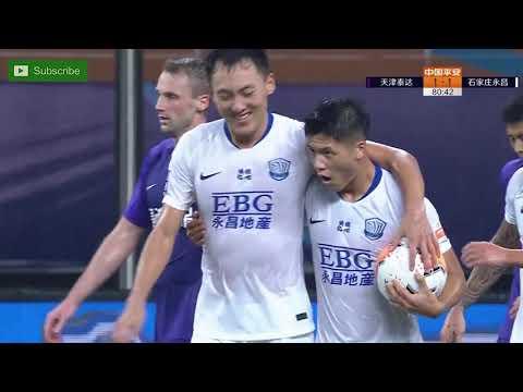 Tianjin Teda 1 - [1] Shijiazhuang Ever Bright - Pu Chen goal 81'