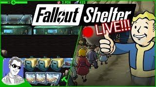 Fallout Shelter Vault 808 - I'm Back!