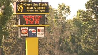 Bomb threat at Green Sea-Floyds high school